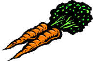 Depicting a slow metabolism as fast as watching a carrot grow.